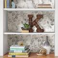 Wallpops Peel & Stick Wallpaper-Grey Breezy