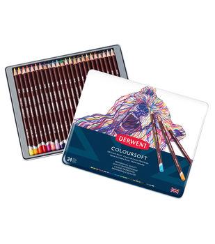 Derwent 24 pk Coloursoft Pencils