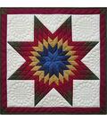 Rachel\u0027s of Greenfield-Lone Star Wall Quilt Kit-22\u0022X22\u0022