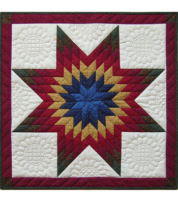 "Rachel's of Greenfield-Lone Star Wall Quilt Kit-22""X22"""