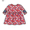 Simplicity Pattern 8304 Babies\u0027 Apparel, Headband & Bibs-Size A (XXS-L)