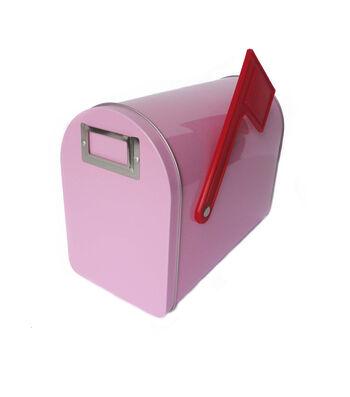 Hampton Art Wrap it Up Medium Mailbox-Pastel Pink