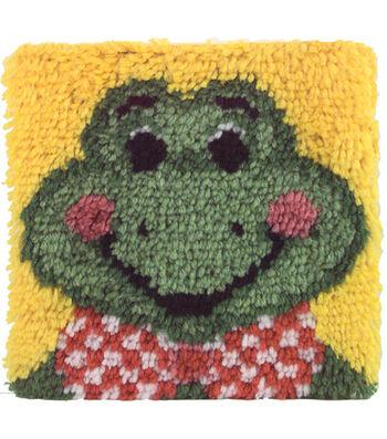 "Wonderart Latch Hook Kit 12""X12""-Froggy"