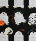 Halloween Cotton Fabric 44\u0027\u0027-Star Wars & Halloween on Black