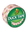 Printed Duck Tape Br& Duct Tape 1.88 in. x 10 yd.-Vintage Floral
