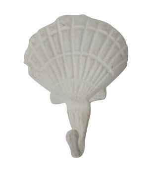 Indigo Mist White Shell Hook