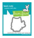 Lawn Fawn Lawn Cuts Custom Craft Die-Winter Owl