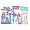 Make It Real Fashion Design Sketchbook-Digital Dream