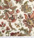 Legacy Studio Cotton Fabric-Hampton Court Jacobean Floral Tan