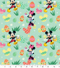 Disney Mickey and Minnie Cotton Fabric-Egg Hunt