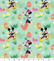 Disney Easter Mickey & Minnie Cotton Fabric-Eggs Hunt, , hi-res