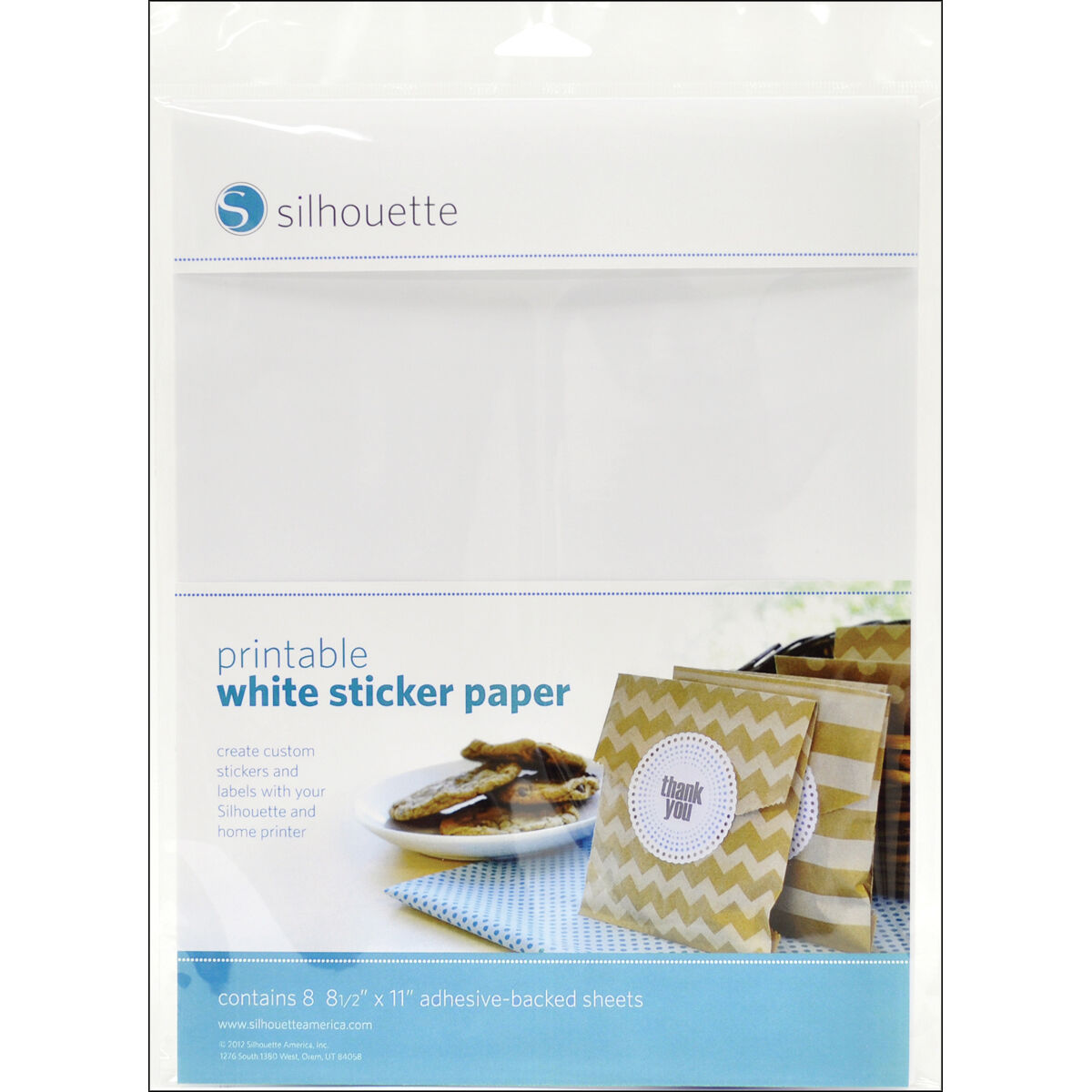 image about Silhouette Printable Tattoo Paper named Silhouette Momentary Tattoo Paper 8.5\