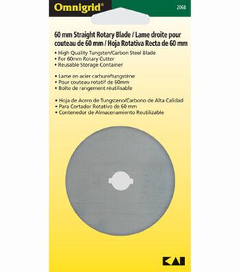 Omnigrid 60mm Straight Rotary Blade