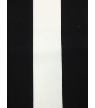 "Outdoor Fabric 54""-Baja Stripe Black"