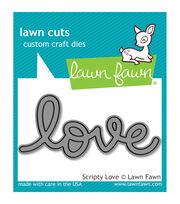 Lawn Fawn Lawn Cuts Custom Craft Die -Scripty Love, , hi-res