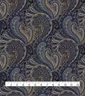 Waverly Multi-Purpose Décor Fabric-Knightsbridge Porcelain