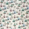 Super Snuggle Flannel Fabric-Aztec Desert Teepee