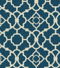 Home Decor 8\u0022x8\u0022 Fabric Swatch-Lovely Lattice Lapis