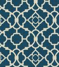 Waverly Upholstery Fabric 54\u0022-Lovely Lattice Lapis