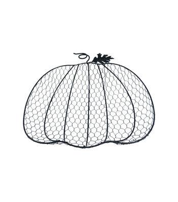 Simply Autumn Wire Pumpkin Basket