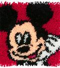 Disney Latch Hook Kit 12\u0022X12\u0022-Mickey Mouse