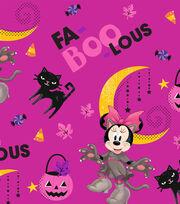 "Disney Minnie Mouse Halloween Cotton Fabric 43""-Fa Boo Lous, , hi-res"