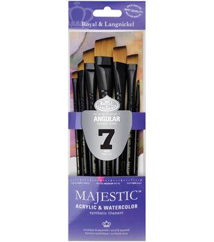 Royal & Langnickel Majestic 7 pk Angular Brushes