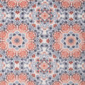 Anti-Pill Plush Fleece Fabric-Coral Gray Textured Home Dec
