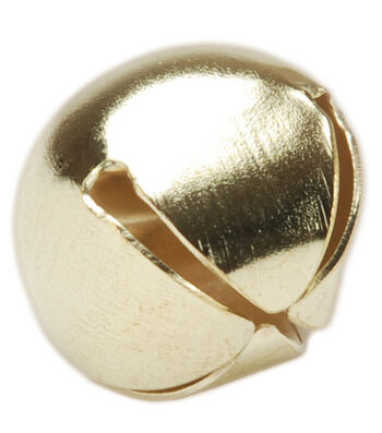"Darice 7/8"" 18mm Jingle Bells-18PK/Gold"