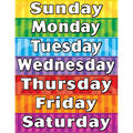 Teacher Created Resources Days of the Week Chart 6pk