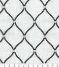 Williamsburg Multi-Purpose Decor Fabric 54\u0027\u0027-Zinc Deane Embroidery