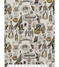 Halloween Cotton Fabric 45\u0022-Trickery