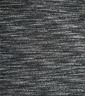 Ponte Knit Fabric -Black & White Space Dye