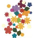 Feltworks Die Cut Flower Value Pack-Assorted