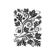 Darice Embossing Folder - Fall Leaf, 4-1/2 x 5-3/4 inches, , hi-res
