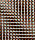 1930\u0027s Cotton Fabric 43\u0022-Square Connections Orange