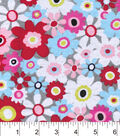 Snuggle Flannel Fabric -Happy Days Floral