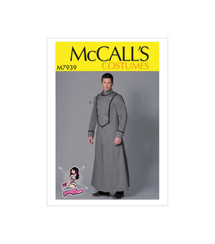 McCall's Pattern M7939 Men's Costume-Size 38-40-42-44