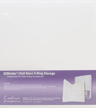 "EZBinder 3-Ring Storage 10.75""X11.625""X1.5"""
