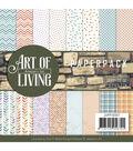 Find It Trading Jeanine\u0027s Art Paper Pack 6\u0022X6\u0022-Art Of Living