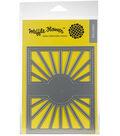 Waffle Flower Die-Sun Shine Panel
