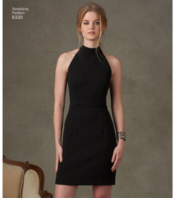 Simplicity Pattern 8330 Misses' Dress with Skirt-Size D5 (4-12)