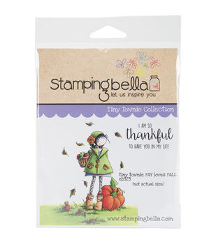 Stamping Bella Cling Stamp-Tiny Townie Fay Loves Fall