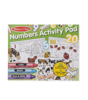 Melissa & Doug Numbers Activity Pad, , hi-res