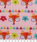 Blizzard Fleece Fabric -Foxy Pink