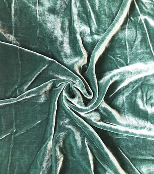 Gianna Liquid Silk Blend Velvet Fabric 56''
