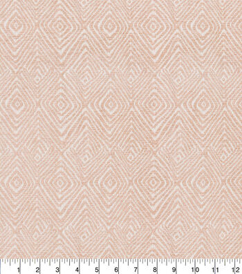 Kelly Ripa Home Lightweight Decor Fabric 54''-Blush Set In Motion