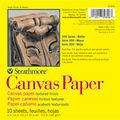 Strathmore Canvas Paper Pad 6\u0022X6\u0022-115lb 10 Sheets