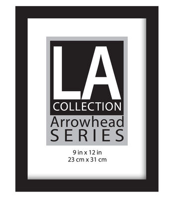 LA Collection Arrowhead Series Flat Top Wall Frame 9''x12''