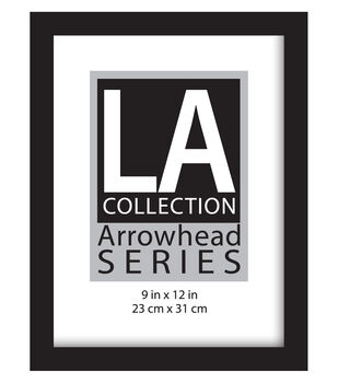 LA Collection Arrowhead Series Flat Top Wall Frame 9''x12''